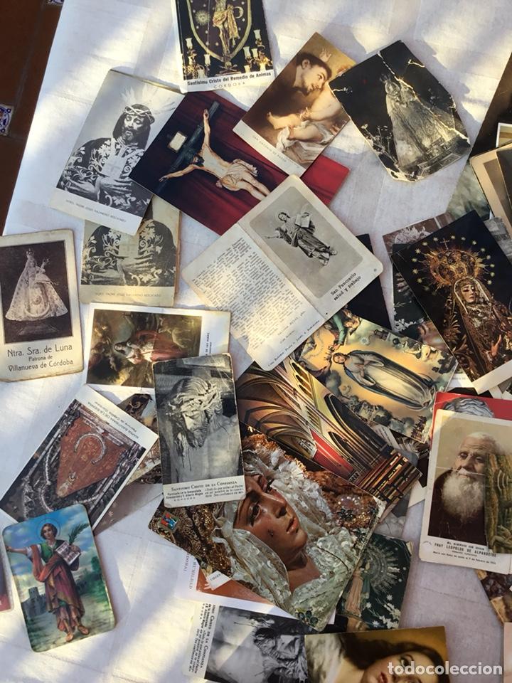 Postales: Lote estampas religiosas, postales, fallecimientos .... - Foto 4 - 131940950