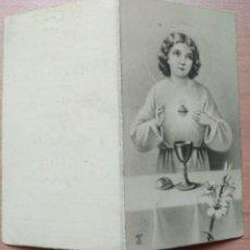 Postales: R 20 ANTIGUA ESTAMPA RECORDATORIO 1ª COMUNIÓN - CERVERA MAYO 1944. Lote 132136990