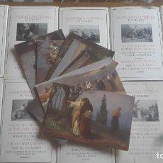 Postales: LA SAGRADA ESCRITURA EN CUADROS SEGUN DIBUJOS ORIGINALES DE R. LEINWEBER. - COMPLETA 120 POSTALES. Lote 132324574