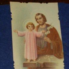 Postales: ESTAMPA RELIGIOSA TROQUELADA JESUS.AÑOS 20. Lote 132805118