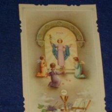 Postales: ESTAMPA RELIGIOSA TROQUELADA.AÑOS 20. Lote 140955482