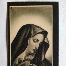 Postales: ANTIGUA ESQUELA MORTUORIA, MARZO 1946, MADRID. Lote 132823970