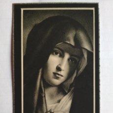 Postales: ANTIGUA ESQUELA MORTUORIA, MARZO 1946, MADRID. Lote 132824398