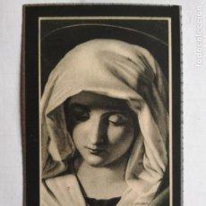 Postales: ANTIGUA ESQUELA MORTUORIA, MARZO 1946, MADRID. Lote 132824658