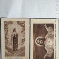 Postales: ANTIGUA ESQUELA MORTUORIA, DICIEMBRE 1948, MADRID. Lote 132825602