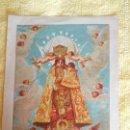 Postales: ANTIGUA ESTAMPA AÑO 1923. VIRGEN DE LOS DESAMPARADOS. Lote 133347221
