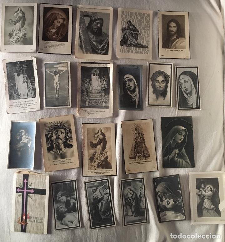 LOTE RECORDATORIOS DEFUNCIÓN (Postales - Postales Temáticas - Religiosas y Recordatorios)