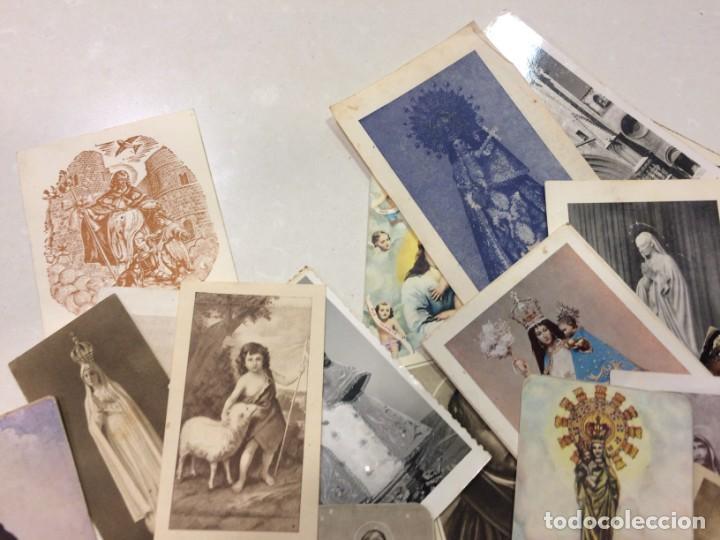 Postales: Lote de estampas y postales religiosas - Foto 2 - 133488558