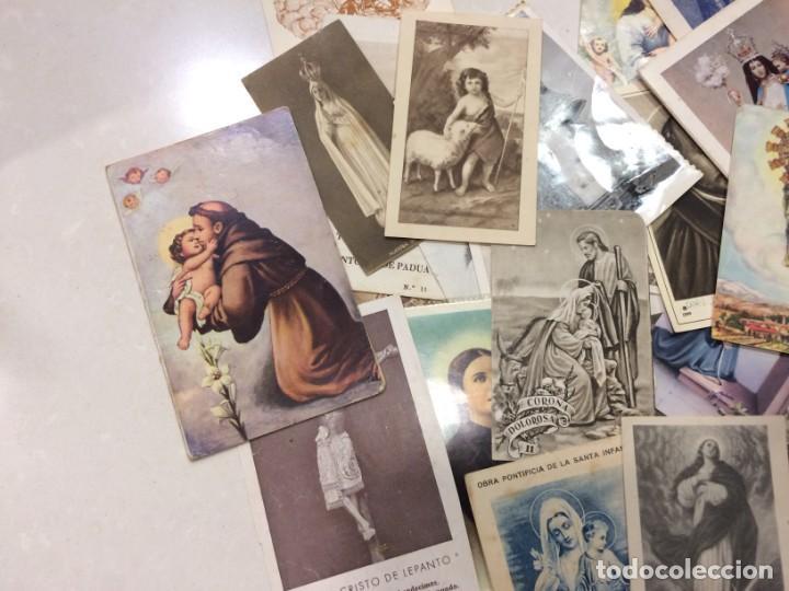 Postales: Lote de estampas y postales religiosas - Foto 3 - 133488558