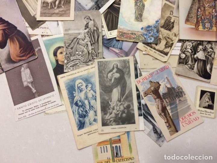 Postales: Lote de estampas y postales religiosas - Foto 4 - 133488558