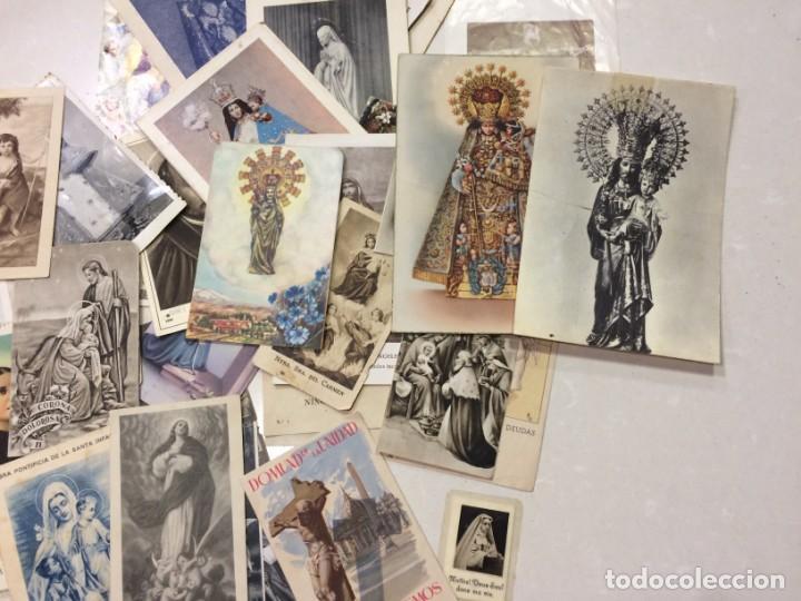 Postales: Lote de estampas y postales religiosas - Foto 5 - 133488558