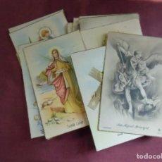 Postales: POSTALES RELIGIOSAS S/C, AÑOS 40-50-LOTE DE 24 DIFERENTES.. Lote 133762058