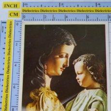 Postales: RECORDATORIO RELIGIOSO SEMANA SANTA. AÑOS 70 80. MARÍA AUXILIADORA, NOVENA SAN JUAN BOSCO. 25. Lote 133779370