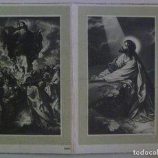 Postales: RECORDATORIO DE SEÑORA VIUDA FALLECIDA EN MADRID EN 1960. Lote 133993282