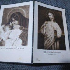 Postales: RECORDATORIO DEFUNCIÓN IRIGOYEN URIARTE LEQUEITIO VIZCAYA 1932. Lote 134245530