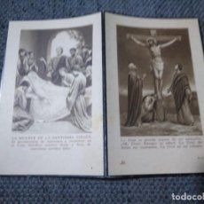 Postales: RECORDATORIO DEFUNCIÓN URIARTE BERASATEGUI ZUMAYA GIPUZKOA 1941. Lote 134245594