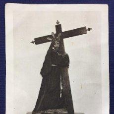 Postales: IMAGEN MILAGROSA DE N P JESUS NAZARENO PATRON VILLATOBAS TOLEDO 14 SEPTIEMBRE 19X14CMS. Lote 135176062