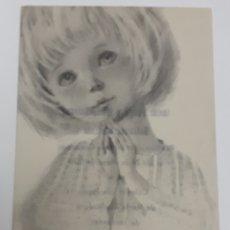 Postales: ESTAMPA DE PRIMERA COMUNIÓN. 1970. Lote 135624635