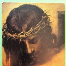 Postales: CRISTO CRUCIFICADO. 13 SERIE TESTIMONIOS. DEHON. NUEVA. COLOR. Lote 135751617