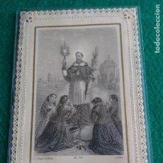 Postales: LOTE DE ESTAMPAS RELIGIOSAS Y RECORDATORIOS. Lote 135784154