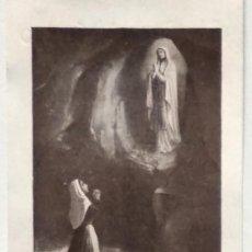Postales: RECORDATORIO DEL CURA PÁRROCO DE SANTA MARÍA DE ALCOY A SUS FELIGRESES OFRECIENDO SUS SERVICIOS 1931. Lote 135820486