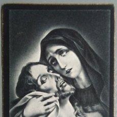 Postales: ESTAMPA RECUERDO RECORDATORIO DEFUNCION 1939. Lote 135856549