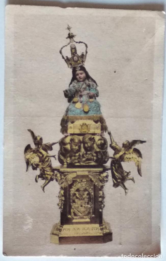 ALCOY (ALICANTE) - EL NIÑO JESÚS DEL MILAGRO, IMAGEN VENERADA EN LA IGLESIA DEL SANTO SEPULCRO (Postales - Postales Temáticas - Religiosas y Recordatorios)