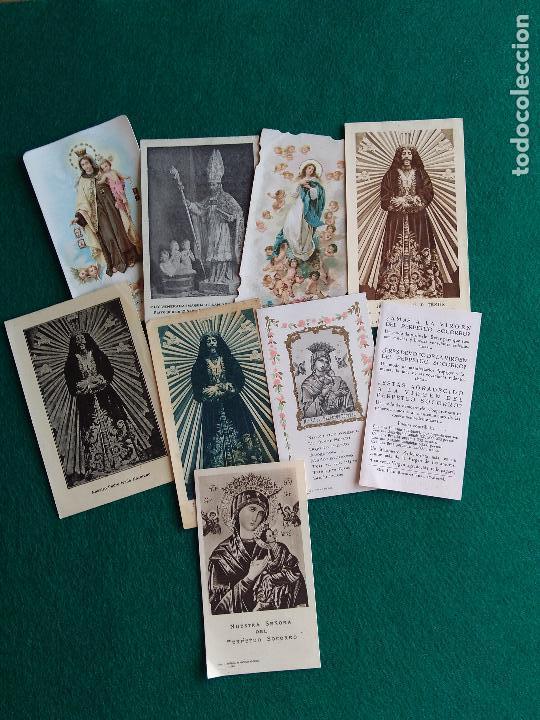 Postales: LOTE DE ESTAMPAS RELIGIOSAS Y RECORDATORIOS - Foto 3 - 135784154