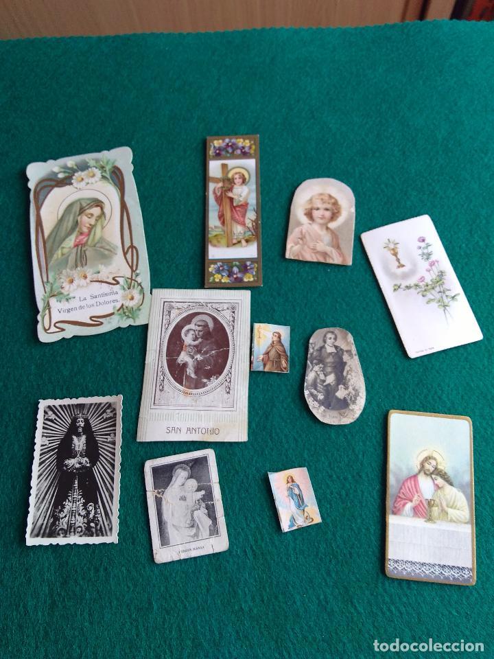 Postales: LOTE DE ESTAMPAS RELIGIOSAS Y RECORDATORIOS - Foto 4 - 135784154