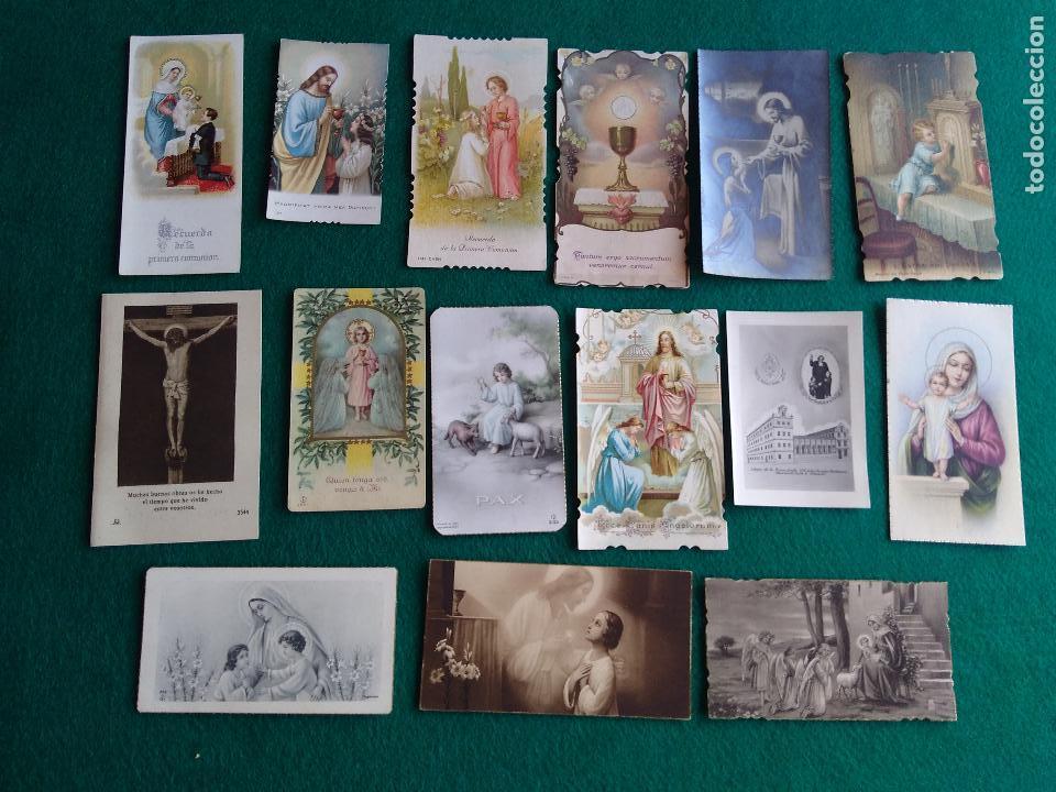 Postales: LOTE DE ESTAMPAS RELIGIOSAS Y RECORDATORIOS - Foto 7 - 135784154