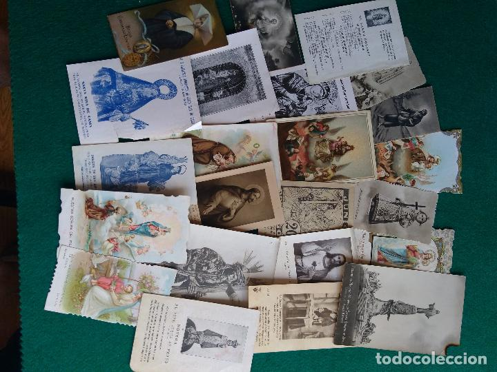 Postales: LOTE DE ESTAMPAS RELIGIOSAS Y RECORDATORIOS - Foto 9 - 135784154