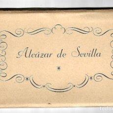 Postales: BLOC 16 POSTALES ED. FOURNIER DE VITORIA - DE EL ALCAZAR DE SEVILLA - FOTO-L. ARENAS- NUEVAS. Lote 136570502