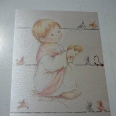 Postales: RECORDATORIO COMUNION *CRIS* - 1988. Lote 270522278