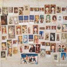 Postales: LOTE 85 RECUERDO ESTAMPA RECORDATORIO PRIMERA COMUNION SACRAMENTO BAUTIZO HOMILIA DEFUNCION 1920-197. Lote 137706202
