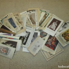 Postales: GRAN LOTE DE 270 ESTAMPAS RELIGIOSAS DIVERSAS DEL SIGLO XX . Lote 138775266