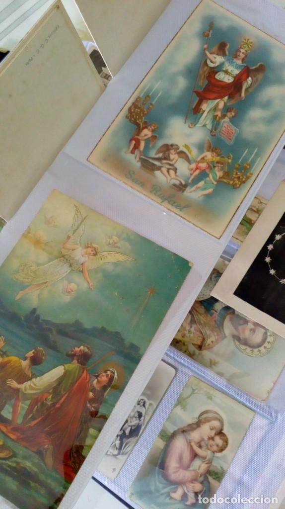 ESPECTACULAR ALBUM DE POSTALES ANTIGUAS MARIANAS DE MULTITUD DE ADVOCACIONES ETC (Postales - Postales Temáticas - Religiosas y Recordatorios)