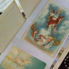 Postales: ESPECTACULAR ALBUM DE POSTALES ANTIGUAS MARIANAS DE MULTITUD DE ADVOCACIONES ETC. Lote 139120470