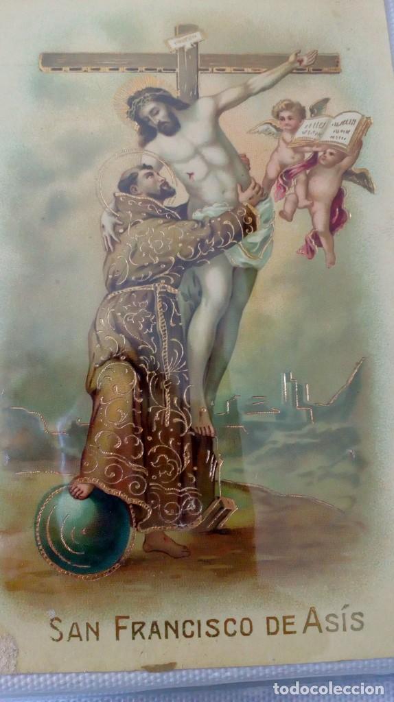 Postales: Espectacular album de postales antiguas marianas de multitud de advocaciones etc - Foto 3 - 139120470