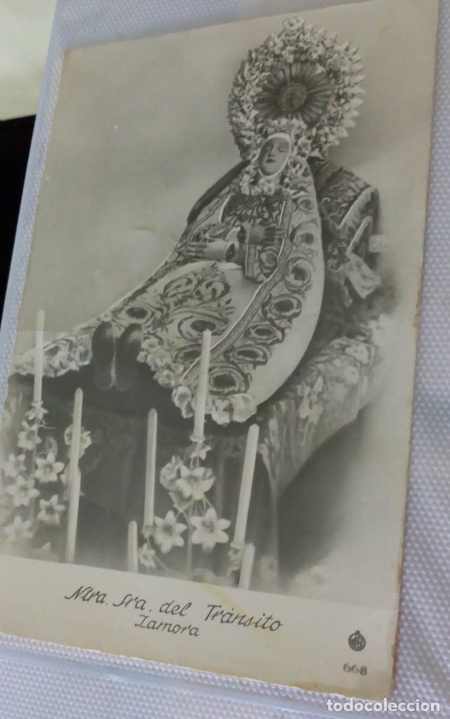 Postales: Espectacular album de postales antiguas marianas de multitud de advocaciones etc - Foto 4 - 139120470