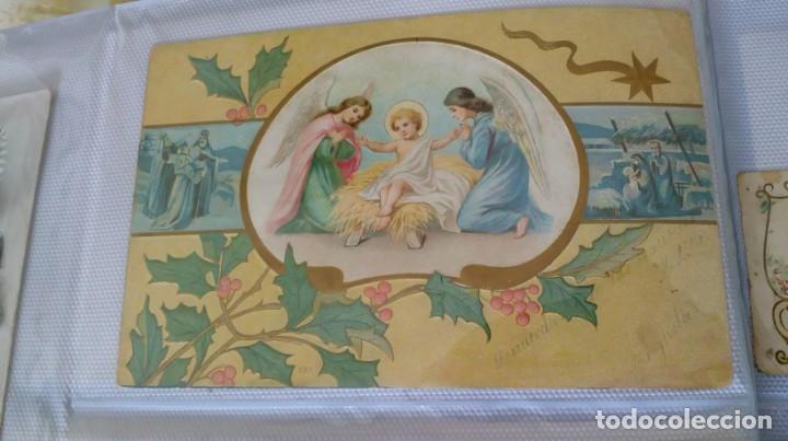 Postales: Espectacular album de postales antiguas marianas de multitud de advocaciones etc - Foto 5 - 139120470