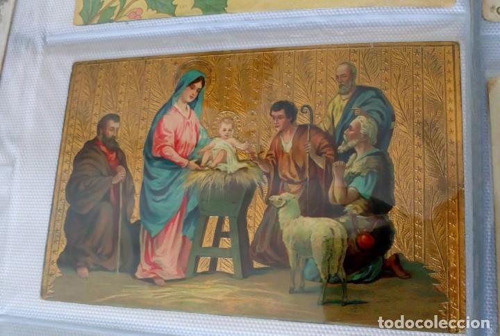 Postales: Espectacular album de postales antiguas marianas de multitud de advocaciones etc - Foto 6 - 139120470