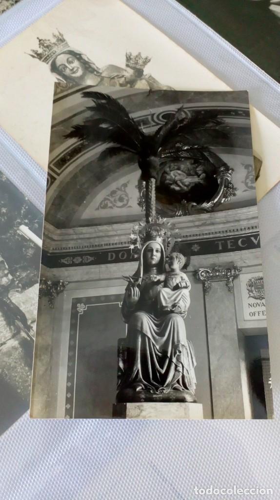 Postales: Espectacular album de postales antiguas marianas de multitud de advocaciones etc - Foto 7 - 139120470