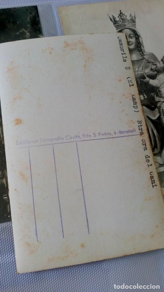 Postales: Espectacular album de postales antiguas marianas de multitud de advocaciones etc - Foto 8 - 139120470