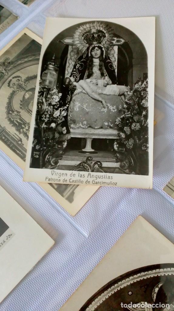 Postales: Espectacular album de postales antiguas marianas de multitud de advocaciones etc - Foto 9 - 139120470