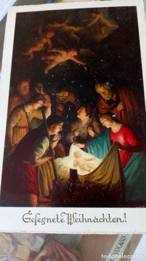 Postales: Espectacular album de postales antiguas marianas de multitud de advocaciones etc - Foto 13 - 139120470