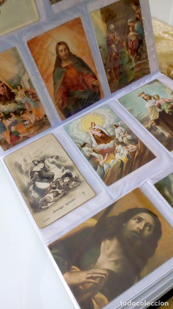 Postales: Espectacular album de postales antiguas marianas de multitud de advocaciones etc - Foto 20 - 139120470