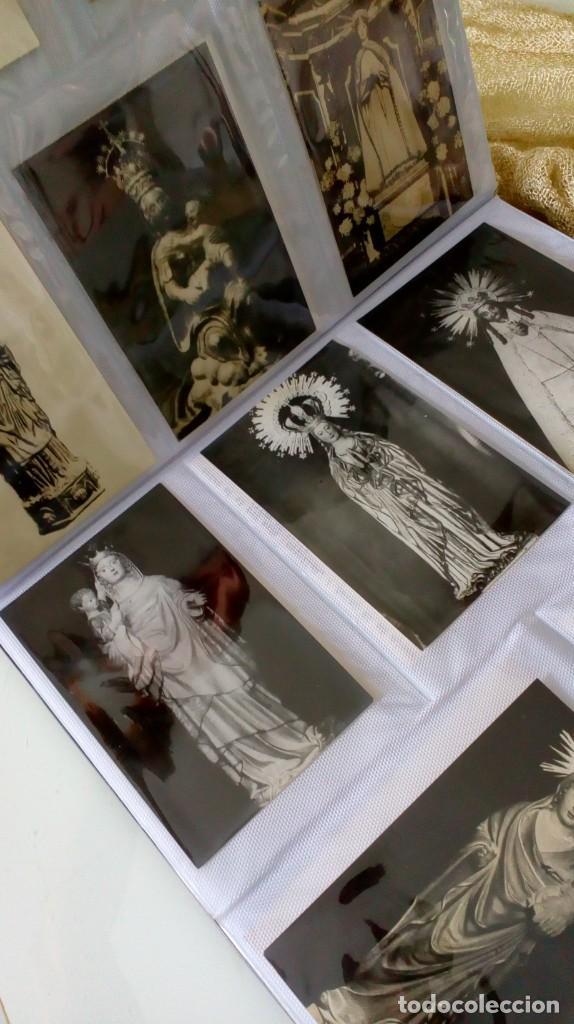 Postales: Espectacular album de postales antiguas marianas de multitud de advocaciones etc - Foto 22 - 139120470