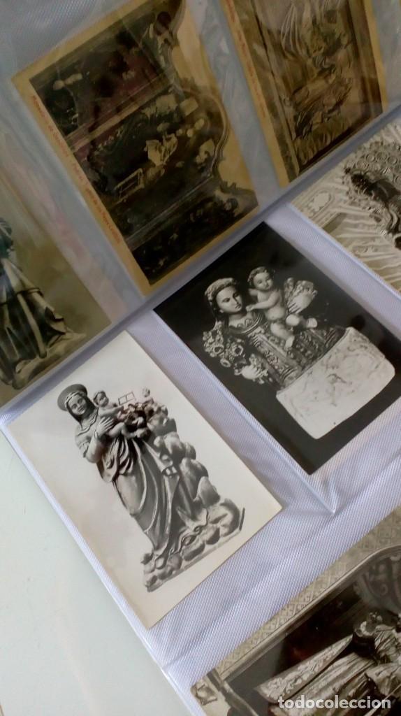 Postales: Espectacular album de postales antiguas marianas de multitud de advocaciones etc - Foto 23 - 139120470