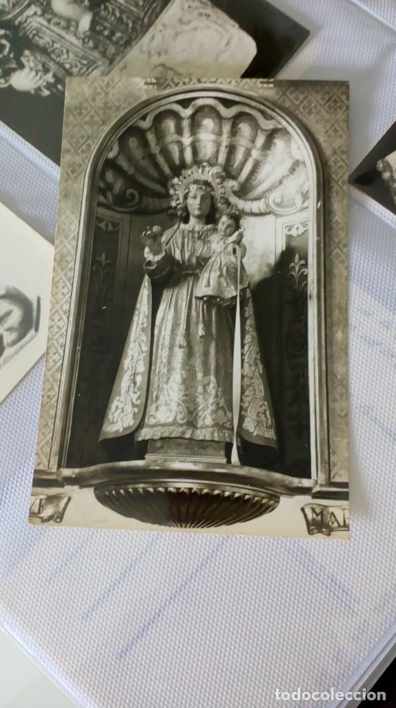 Postales: Espectacular album de postales antiguas marianas de multitud de advocaciones etc - Foto 24 - 139120470