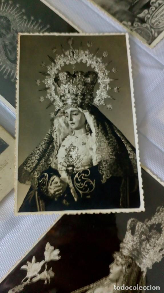 Postales: Espectacular album de postales antiguas marianas de multitud de advocaciones etc - Foto 26 - 139120470